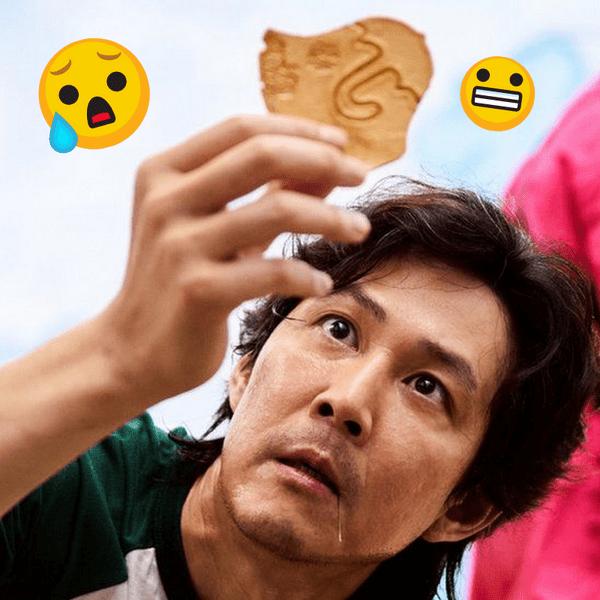 Фото №1 - Тест-рулетка: Смогла бы ты справиться с печеньем из «Игры в кальмара»? 🍪