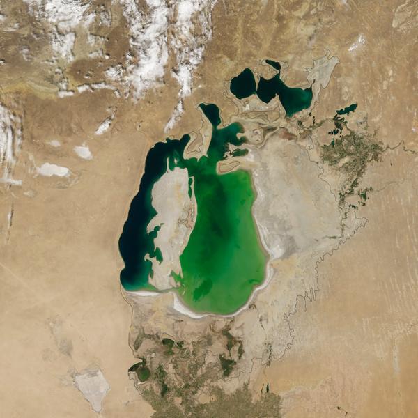 Фото №2 - Было— стало: 6 примеров того, как человек и изменение климата влияют на планету