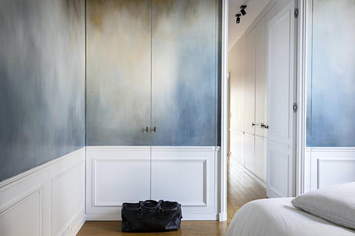 Фото №7 - Квартира с золотыми акцентами в Париже
