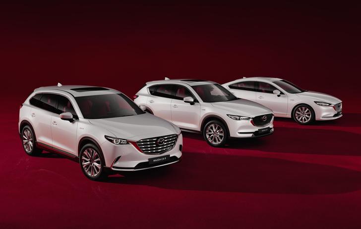 Фото №1 - Сто лет в обед: юбилейные Mazda добрались до российских дилеров