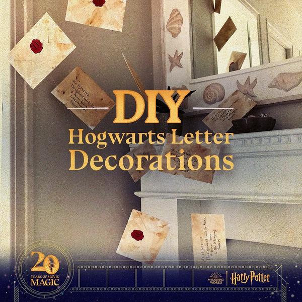Фото №2 - DIY: как сделать себе письмо из Хогвартса 🦉