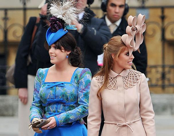 Фото №11 - Самые необычные и странные свадебные шляпки королевской семьи