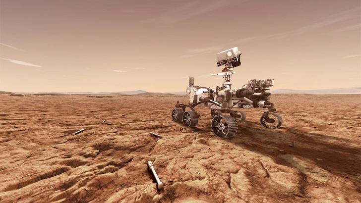 Фото №1 - Ровер Perseverance не смог взять образцы марсианского грунта