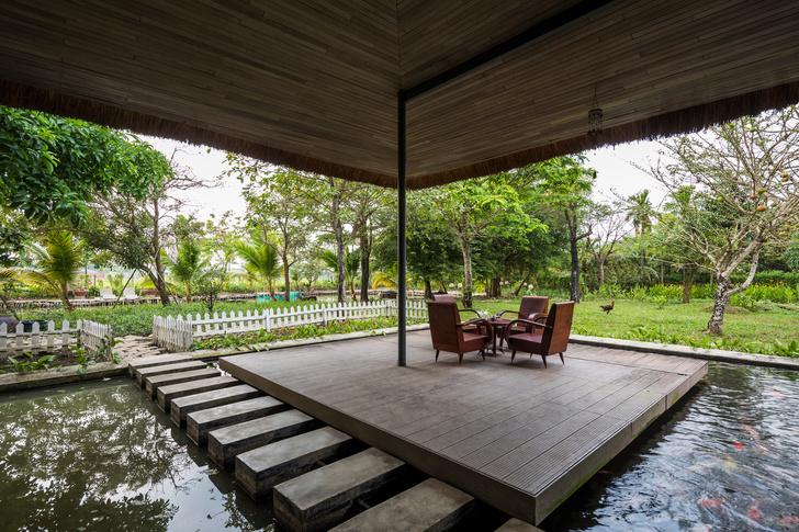 Фото №5 - Дом с соломенной крышей и прудом во Вьетнаме