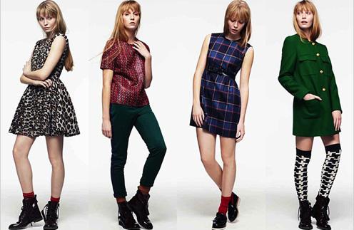 Леопардовый принт, клетка и абстракция - самые модные принты сезона осень-зима 2011 - 2012