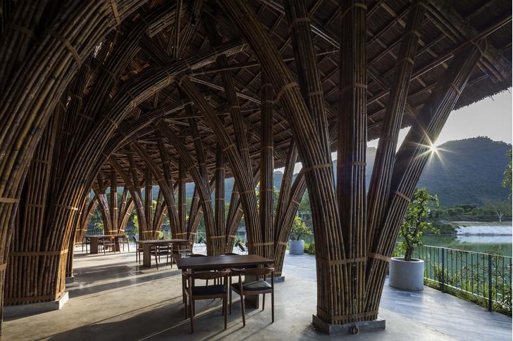 Фото №6 - Ресторан из бамбука во Вьетнаме