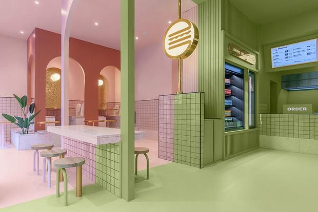 Фото №7 - Яркая бургерная в Турине по проекту Masquespacio