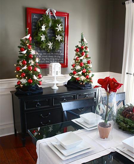 Украшение дома на новый год - 76 фото оригинальных идей декора | 550x450
