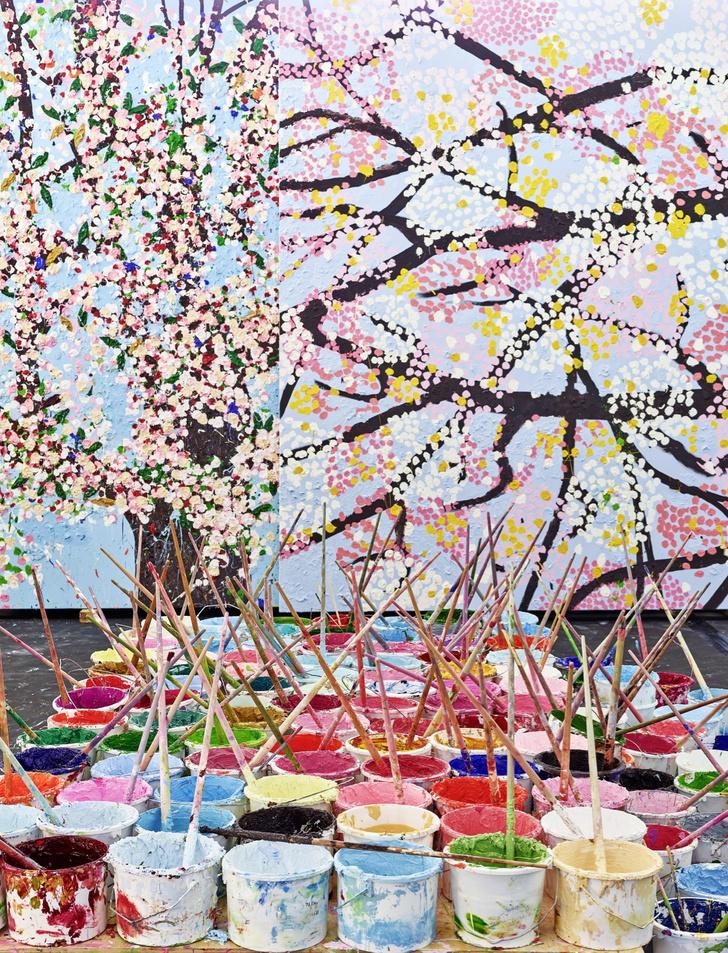 Фото №6 - Вишневый сад: выставка Дэмиена Херста в Фонде Cartier