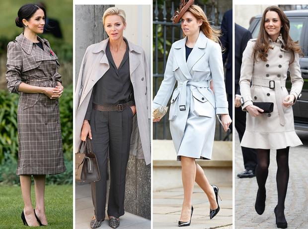 Фото №1 - Выбирая классику: как королевские особы носят тренчи