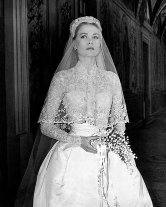 Грейс Келли, свадебное платье, фото