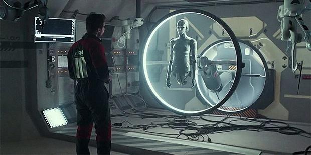 Кадр из научно-фантастического фильма Archive
