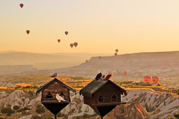 Фото №9 - Удивительный отель с номерами в пещерах в Турции