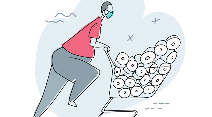 Панические настроения: почему мы скупаем гречку и туалетную бумагу