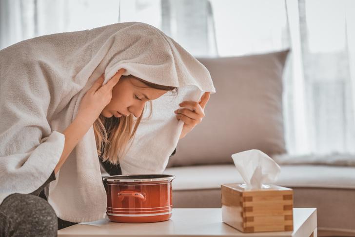 Фото №3 - Ингаляции при простуде: 4 простых рецепта
