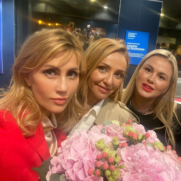 Эмма Салимова, Татьяна Навка и Анна Семенович