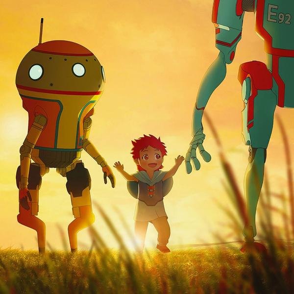Фото №1 - Netflix выпустил трейлер мультсериала «Эдем» о будущем без людей (зато с роботами)