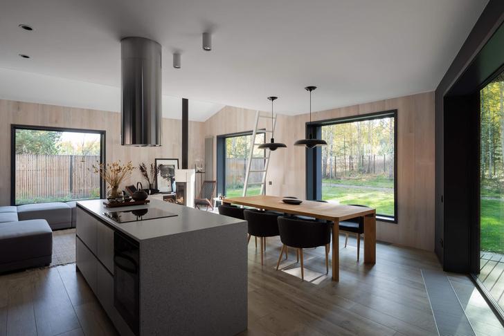 Фото №4 - Современная архитектура: деревянный дом 134 м² в Сибири