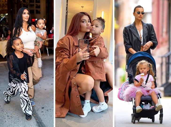 Фото №1 - Модные с пеленок: как звезды одевают своих детей