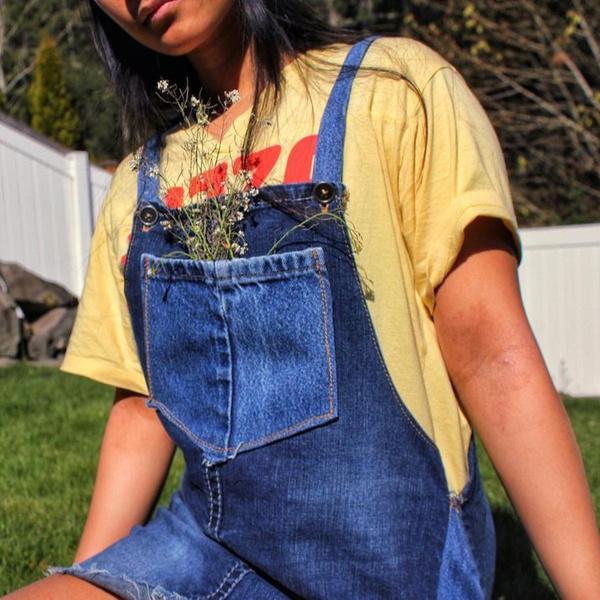 Фото №20 - DIY: 20 способов преобразить старые джинсы