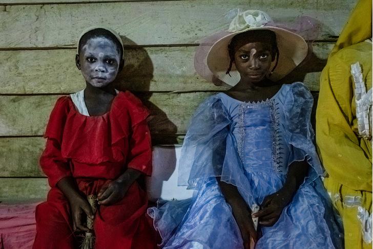 Фото №7 - Владычицы ночи: секретный ритуал Бвити в Габоне