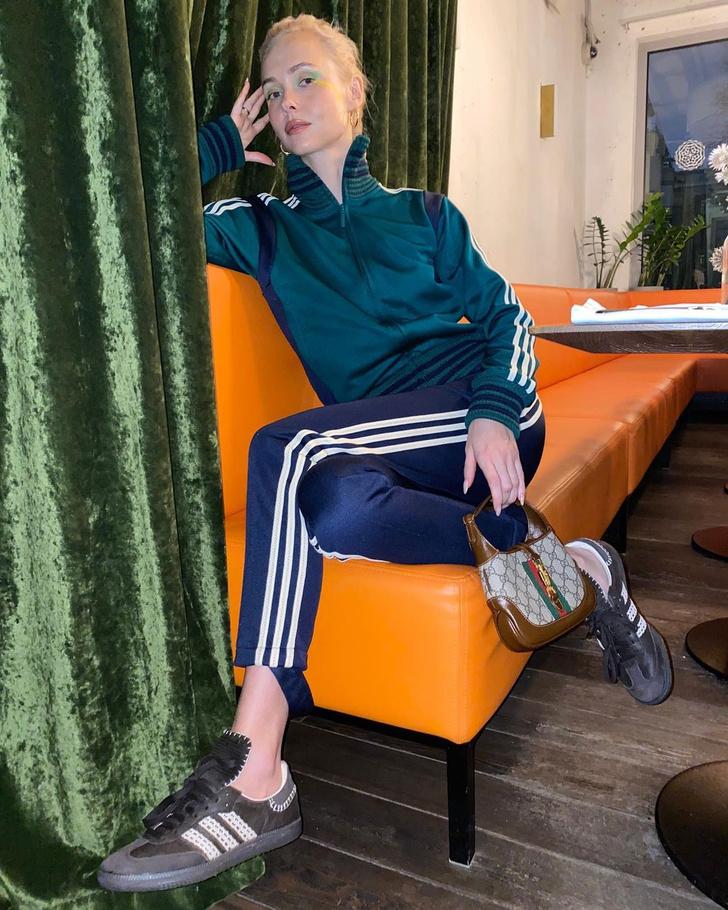 Фото №1 - Ольга Карпуть показывает, как носить вещи из коллаборации adidas x Wales Bonner