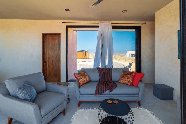 Фото №7 - Бетонный дом с видом на океан в Мексике