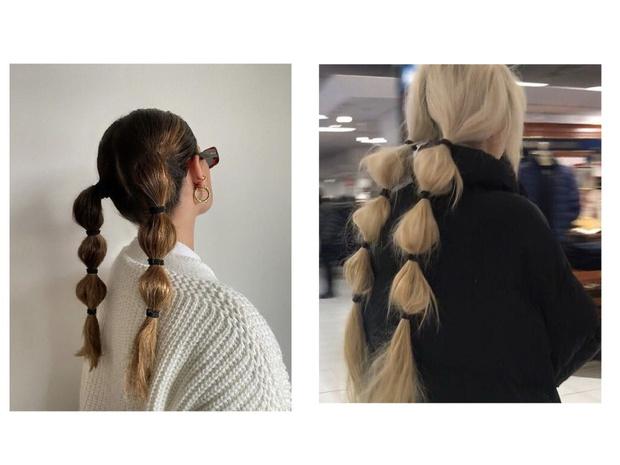 Фото №2 - «Пузырчатые» косы: как сделать эффектную укладку за 5 минут