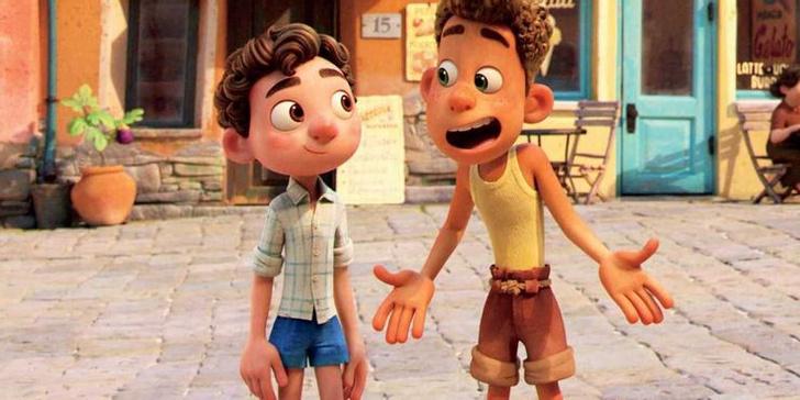 Фото №4 - 10 невероятно прекрасных и трогательных сцен из мультфильма «Лука» от Pixar 🌊