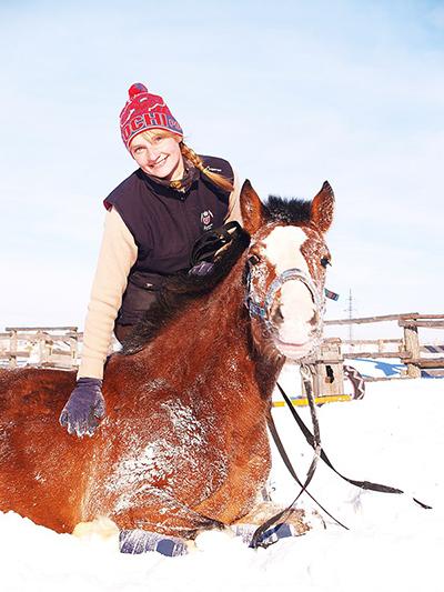 Фото №12 - Девушки на коне: самые романтичные наездницы Ульяновска