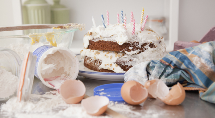 Торт, который стоил 15 фунтов, оказался далеко «не торт»