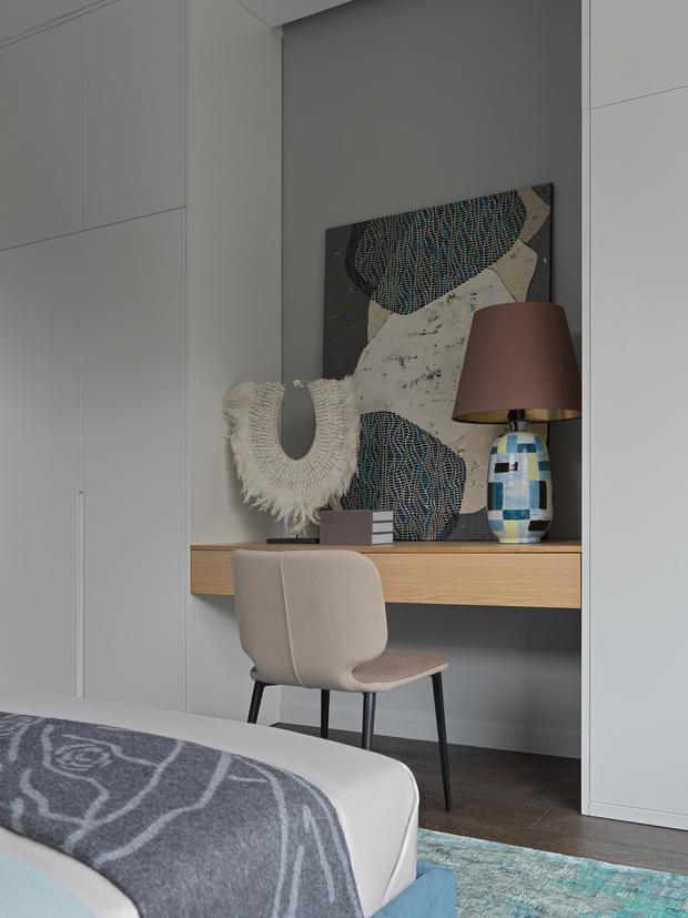 Фото №12 - Дом в Подмосковье 250 м² с камином и большими окнами