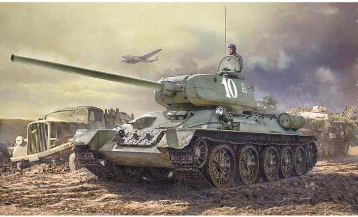 Фото №5 - Почему Т-34 считают лучшим танком Второй мировой, если его легко пробивали «Тигр» и «Пантера»