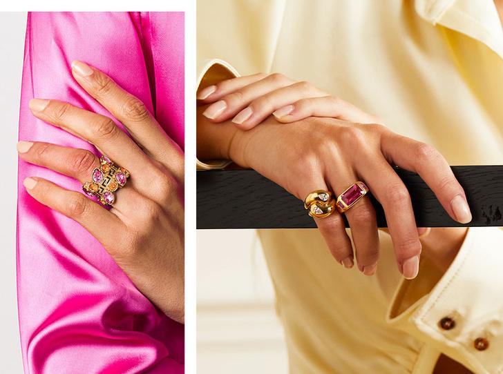 Фото №1 - Коктейльные кольца: самый яркий ювелирный тренд сезона