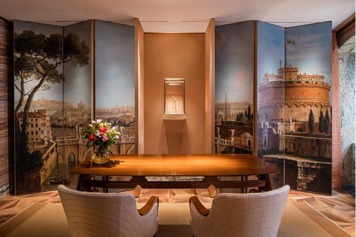 Фото №3 - Новый бутик Bvlgari в Париже: проект Питера Марино