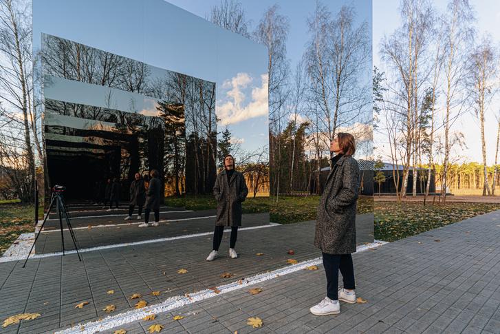 Фото №6 - Зеркальный черный квадрат в парке имени Казимира Малевича