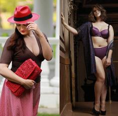 Уроки стиля для пышек: как одеваются модели plus-size