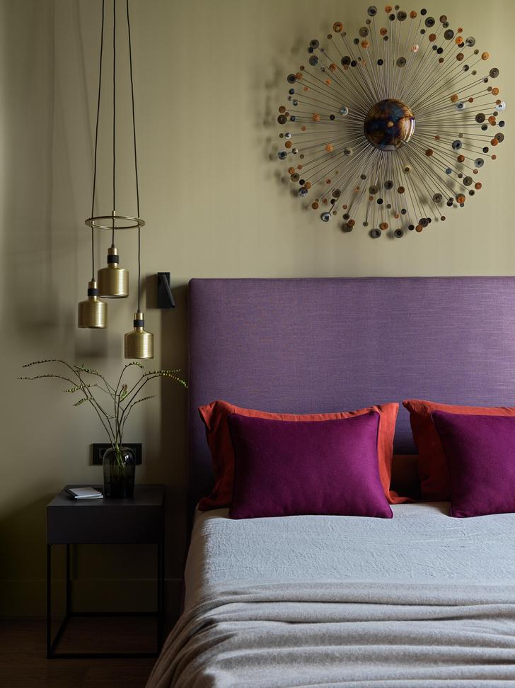 Фото №14 - Все краски осени: уютная московская квартира 70 м²