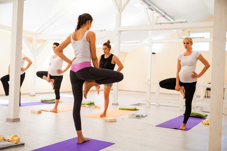 Фото №1 - Комплекс упражнений для беременных