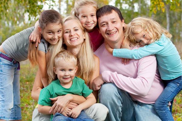 Фото №1 - Моя большая семья