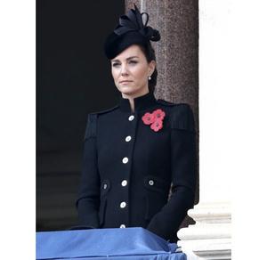 Фото №2 - Сама элегантность: Кейт Миддлтон впервые после начала пандемии встретилась с королевской семьей