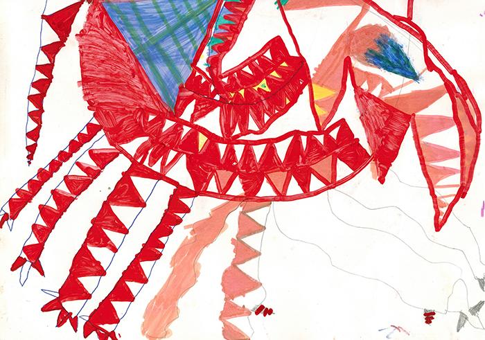 Фото №1 - Что означают острые углы на детском рисунке: мнение психотерапевта