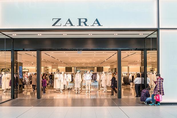 Магазин Zara, фото