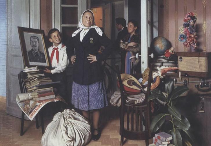 Фото №1 - «Что было при Сталине, что мы потеряли». Как появился пародийный шаблон для иронии над фанатами СССР