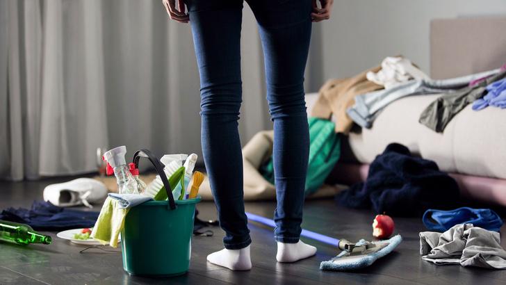 Фото №1 - Всего 30 минут: лайфхаки для быстрой уборки, проверенные мамой