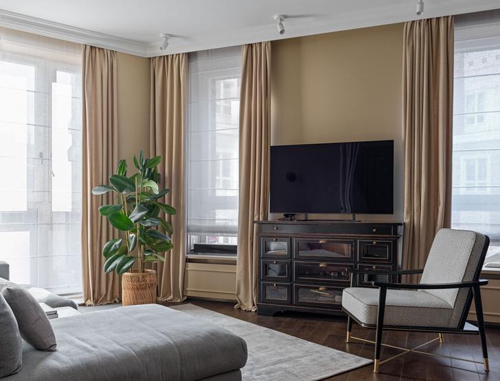 Фото №1 - Классическая квартира с яркими акцентами