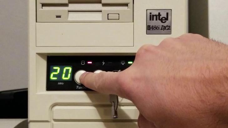 Фото №1 - Краткая история кнопки Turbo на древних компьютерах