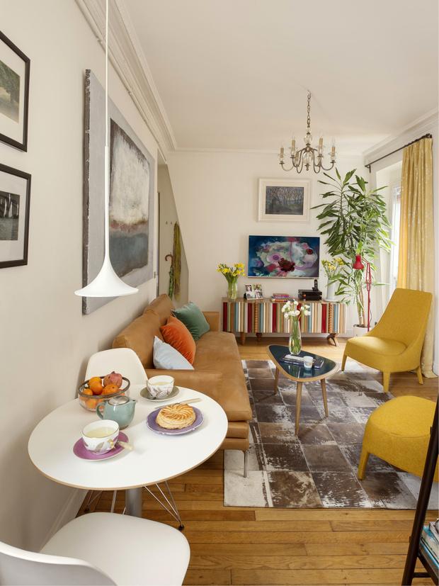 Фото №3 - Парижская квартира 40 м² архитектора Ильи Сологубовского