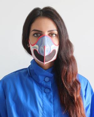 Фото №1 - Alcantara представляет: дизайнерские маски для лица