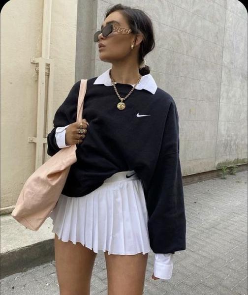 Фото №6 - Как носить простой свитшот и не выглядеть так, будто ты надела первое, что выпало из шкафа